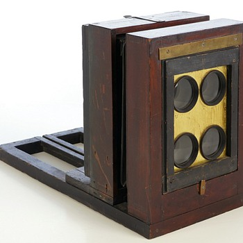 Ferrotype Bon Ton View Box, 1870s  another memorable collecting experience - Cameras