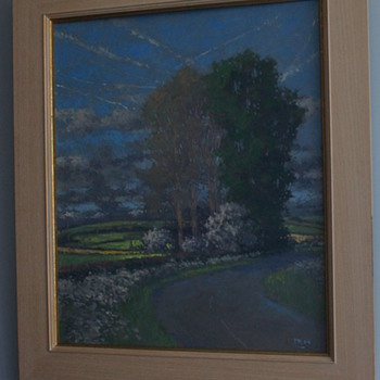 Oliver Warman - Countryside painting - Visual Art