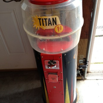 Titan Gumball Machine
