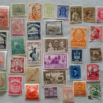 Foreign Postage Stamps: Many Of These Countries Have Been Renamed - Stamps