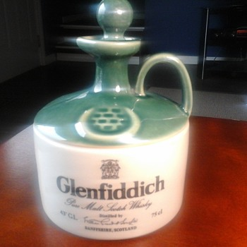 Glenfiddich flagon