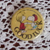 1966 good luck charlie brown pin