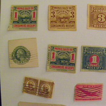 Stamps from my collection