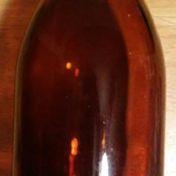 Brown tall jar