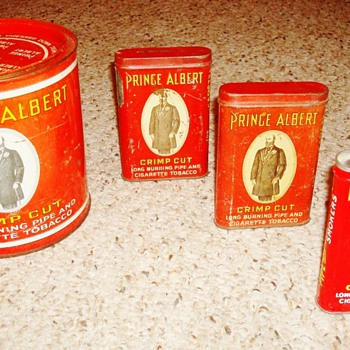 Prince Albert Tobacco Tins - Advertising