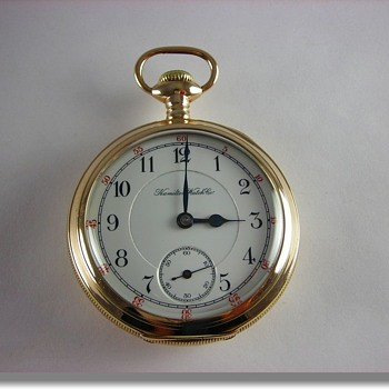 Hamilton 936 1st Year Production (Rare Very Early Serial Number 881) - Pocket Watches