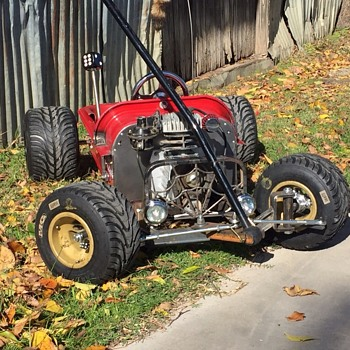 Rat Rod Radio Flyer - Toys