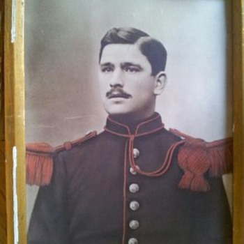 Military man in photo is unknown