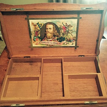 Charles the great cigar box