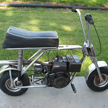 1970 JC Penney ElTigre mini-bike - Motorcycles
