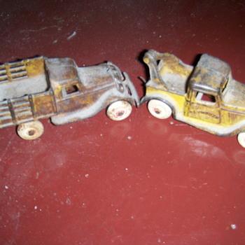 1930s Arcade iron toys