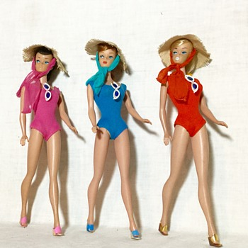 Our '64 Swirl Girls!  - Dolls