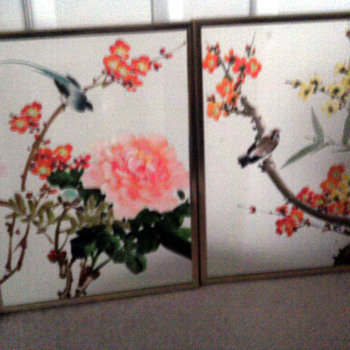 Beautiful Bird painting   chinese?    - Asian