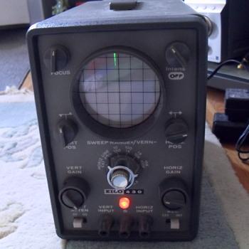 Eico 430 Oscilloscope. - Electronics
