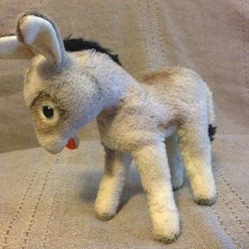 Steiff Grissy Donkey Standing EAN 1622,00