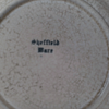 Sheffield Ware Square Sliver Trimmed Appetizer Plate