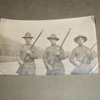 Early 20th century US troopers armed with 45-70 Trapdoors