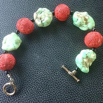 Bracelet, made of ? - Costume Jewelry