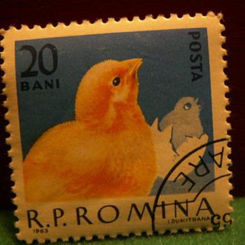 1963 R.P. Romina 20 Bani Stamp ~ Romania - Stamps
