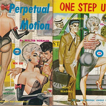 Gene Bilbrew Amazing Artist of Vintage Sleaze Paperback Books - Books