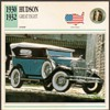 Vintage Car Card - Hudson Great Eight