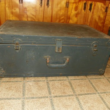 Trunk(possibly military)?