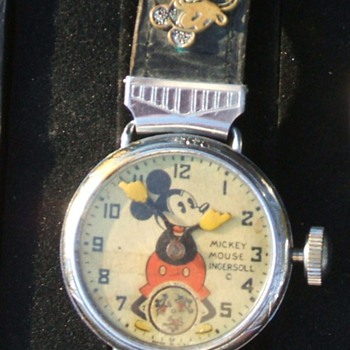 The 1933 Chicago World's Fair Mickey Mouse Wristwatch - Wristwatches