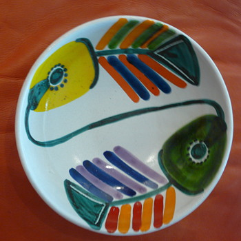 DE SIMONE BOWL & PLATE - Art Pottery