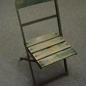 Original Wrigley Field Seat