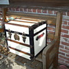 Hat Trunk - Painted White