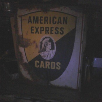 Old American Express - Signs