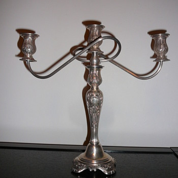 Oneida Silversmiths Candelabra