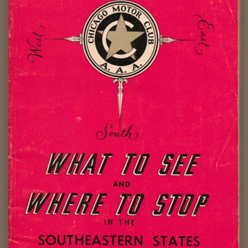 1968 - Southeastern States Tour Book