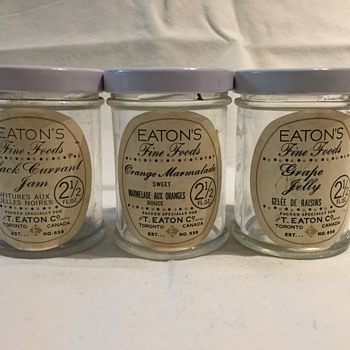 The T. EATON Co. Limited, Winnipeg Jams and Jelly