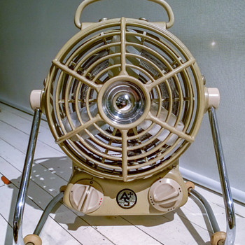 "Albin Sprenger ""Astron 2000"" Heater Fan ca. 1960 - Office"