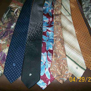 Vintage mens ties designer labels for Bellin - Accessories