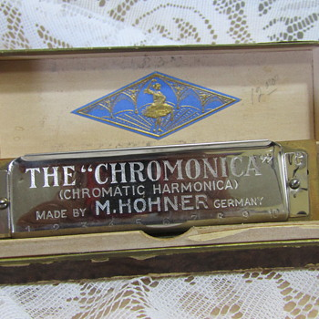 "Vintage M. HOHNER, ""The Chromonica""  Harmonica - Musical Instruments"