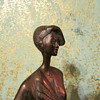 Art Deco bronze of a woman . My new purchase :-)