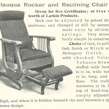 Larkin Chatequa Rocker Recliner #45 - Furniture