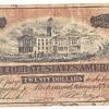 Confederate 20 dollar bill