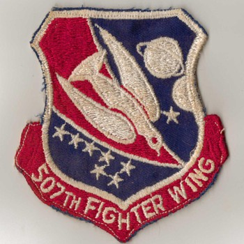 USAF Patch - 507th Fighter Wing - Military and Wartime