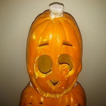 Meet Mr. Pumpkin!!