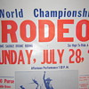 Casey Tibbs World Championship Rodeo Poster