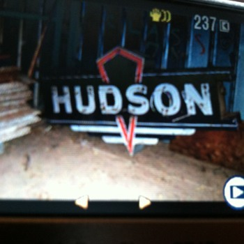 Hudson Automobile Dearship Sign - Advertising