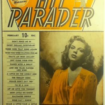 """Hit Parader"" Magazine"