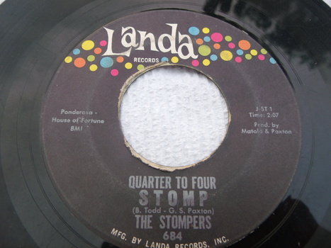 The Stompers Quarter To Four Stomp Foolish One