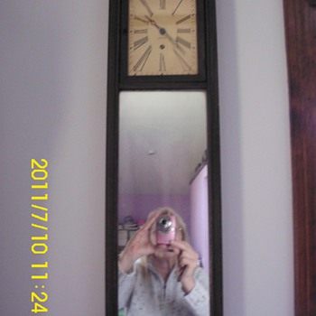 Ansonia Mirror Clock