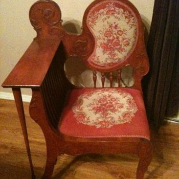 Beautiful chair with strange name, maybe?
