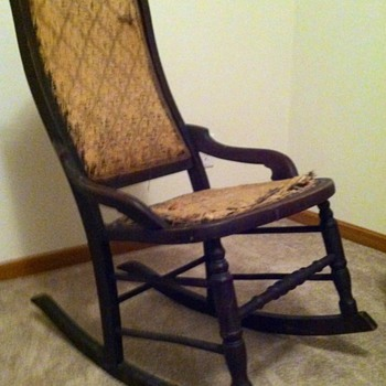 My Rocking Chair I Can't Identify - Furniture