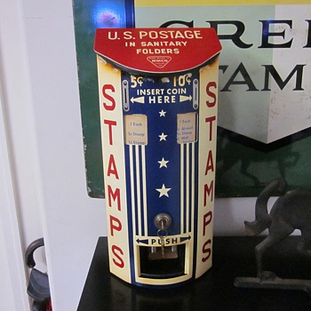 1940's U.S. Postage Stamp Machine